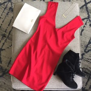 SEXY Red Sheath Mini from Forever 21